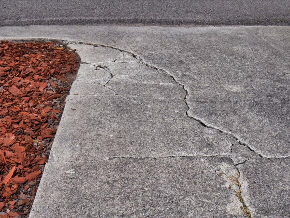 Problems Caused by Uneven Concrete